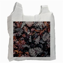 Leaf Leaves Autumn Fall Brown Recycle Bag (One Side)