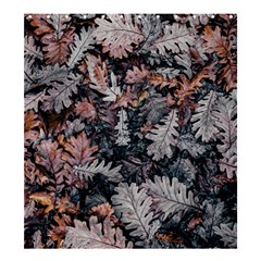 Leaf Leaves Autumn Fall Brown Shower Curtain 66  X 72  (large)