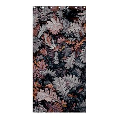 Leaf Leaves Autumn Fall Brown Shower Curtain 36  x 72  (Stall)