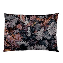 Leaf Leaves Autumn Fall Brown Pillow Case (two Sides)