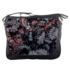Leaf Leaves Autumn Fall Brown Messenger Bags