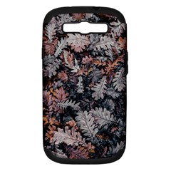 Leaf Leaves Autumn Fall Brown Samsung Galaxy S Iii Hardshell Case (pc+silicone)