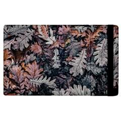 Leaf Leaves Autumn Fall Brown Apple iPad 3/4 Flip Case