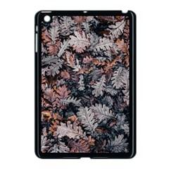 Leaf Leaves Autumn Fall Brown Apple Ipad Mini Case (black)