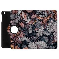 Leaf Leaves Autumn Fall Brown Apple iPad Mini Flip 360 Case
