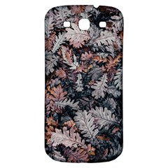 Leaf Leaves Autumn Fall Brown Samsung Galaxy S3 S III Classic Hardshell Back Case
