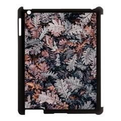 Leaf Leaves Autumn Fall Brown Apple iPad 3/4 Case (Black)