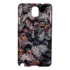 Leaf Leaves Autumn Fall Brown Samsung Galaxy Note 3 N9005 Hardshell Case