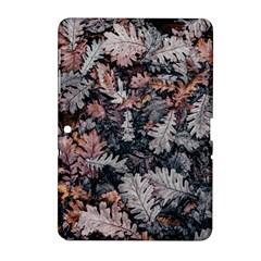 Leaf Leaves Autumn Fall Brown Samsung Galaxy Tab 2 (10 1 ) P5100 Hardshell Case