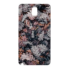 Leaf Leaves Autumn Fall Brown Samsung Galaxy Note 3 N9005 Hardshell Back Case