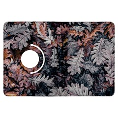 Leaf Leaves Autumn Fall Brown Kindle Fire Hdx Flip 360 Case