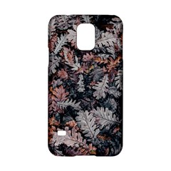 Leaf Leaves Autumn Fall Brown Samsung Galaxy S5 Hardshell Case