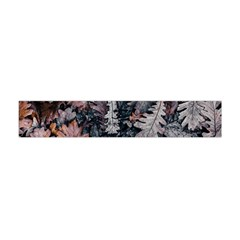 Leaf Leaves Autumn Fall Brown Flano Scarf (mini)