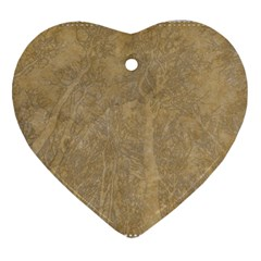 Abstract Forest Trees Age Aging Ornament (Heart)