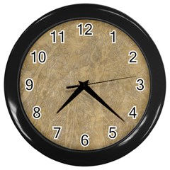 Abstract Forest Trees Age Aging Wall Clocks (Black)