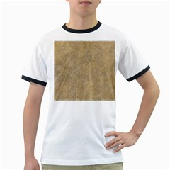 Abstract Forest Trees Age Aging Ringer T-Shirts