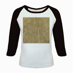 Abstract Forest Trees Age Aging Kids Baseball Jerseys