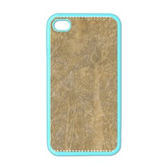 Abstract Forest Trees Age Aging Apple iPhone 4 Case (Color)