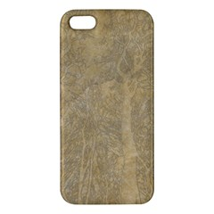 Abstract Forest Trees Age Aging iPhone 5S/ SE Premium Hardshell Case