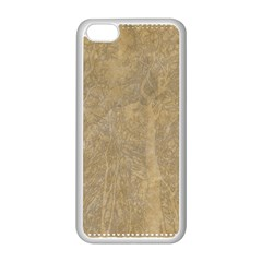 Abstract Forest Trees Age Aging Apple iPhone 5C Seamless Case (White)