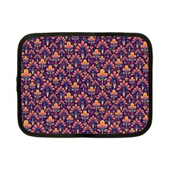 Abstract Background Floral Pattern Netbook Case (Small)