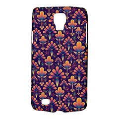 Abstract Background Floral Pattern Galaxy S4 Active