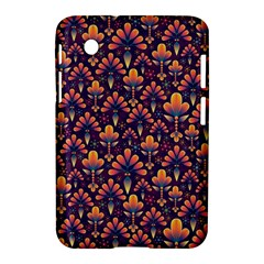 Abstract Background Floral Pattern Samsung Galaxy Tab 2 (7 ) P3100 Hardshell Case