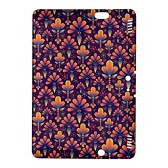 Abstract Background Floral Pattern Kindle Fire HDX 8.9  Hardshell Case