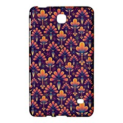 Abstract Background Floral Pattern Samsung Galaxy Tab 4 (7 ) Hardshell Case