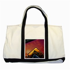 The Rainbow Bridge of a Thousand Fractal Colors Two Tone Tote Bag