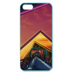 The Rainbow Bridge of a Thousand Fractal Colors Apple Seamless iPhone 5 Case (Color)