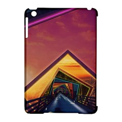 The Rainbow Bridge of a Thousand Fractal Colors Apple iPad Mini Hardshell Case (Compatible with Smart Cover)