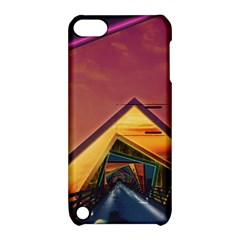 The Rainbow Bridge of a Thousand Fractal Colors Apple iPod Touch 5 Hardshell Case with Stand