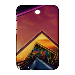 The Rainbow Bridge of a Thousand Fractal Colors Samsung Galaxy Note 8.0 N5100 Hardshell Case