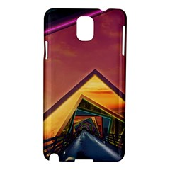 The Rainbow Bridge of a Thousand Fractal Colors Samsung Galaxy Note 3 N9005 Hardshell Case