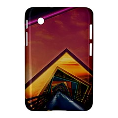 The Rainbow Bridge of a Thousand Fractal Colors Samsung Galaxy Tab 2 (7 ) P3100 Hardshell Case