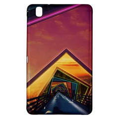The Rainbow Bridge of a Thousand Fractal Colors Samsung Galaxy Tab Pro 8.4 Hardshell Case