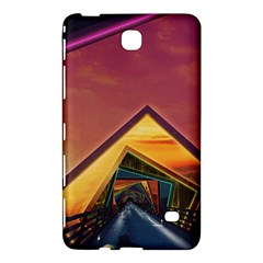The Rainbow Bridge of a Thousand Fractal Colors Samsung Galaxy Tab 4 (7 ) Hardshell Case