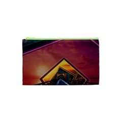 The Rainbow Bridge of a Thousand Fractal Colors Cosmetic Bag (XS)