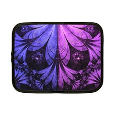 Beautiful Lilac Fractal Feathers of the Starling Netbook Case (Small)
