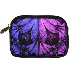 Beautiful Lilac Fractal Feathers of the Starling Digital Camera Cases