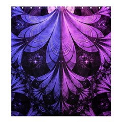 Beautiful Lilac Fractal Feathers Of The Starling Shower Curtain 66  X 72  (large)