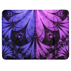 Beautiful Lilac Fractal Feathers of the Starling Samsung Galaxy Tab 7  P1000 Flip Case
