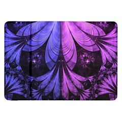 Beautiful Lilac Fractal Feathers of the Starling Samsung Galaxy Tab 8.9  P7300 Flip Case