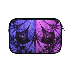 Beautiful Lilac Fractal Feathers of the Starling Apple iPad Mini Zipper Cases