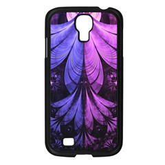 Beautiful Lilac Fractal Feathers of the Starling Samsung Galaxy S4 I9500/ I9505 Case (Black)