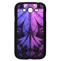Beautiful Lilac Fractal Feathers of the Starling Samsung Galaxy Grand DUOS I9082 Case (Black)