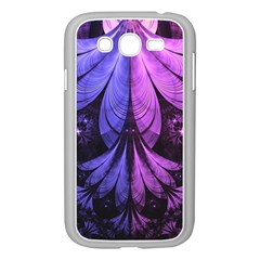Beautiful Lilac Fractal Feathers of the Starling Samsung Galaxy Grand DUOS I9082 Case (White)
