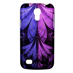 Beautiful Lilac Fractal Feathers of the Starling Galaxy S4 Mini