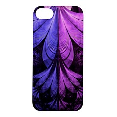 Beautiful Lilac Fractal Feathers of the Starling Apple iPhone 5S/ SE Hardshell Case